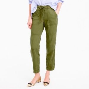 J. Crew Canteen Lounge Pant Jogger Olive Green